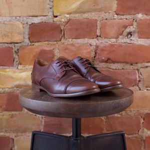 Madewell The Serge Oxford in Brown